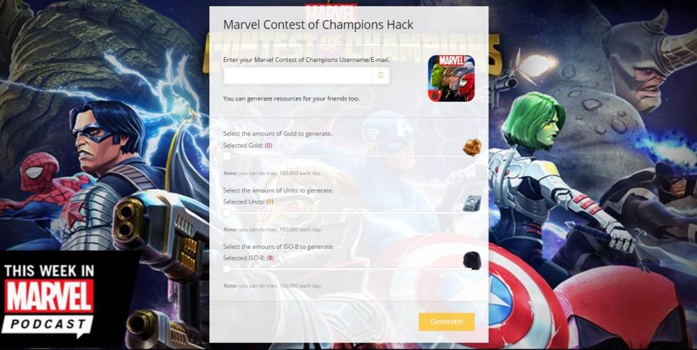 marvel contest of champions cheats